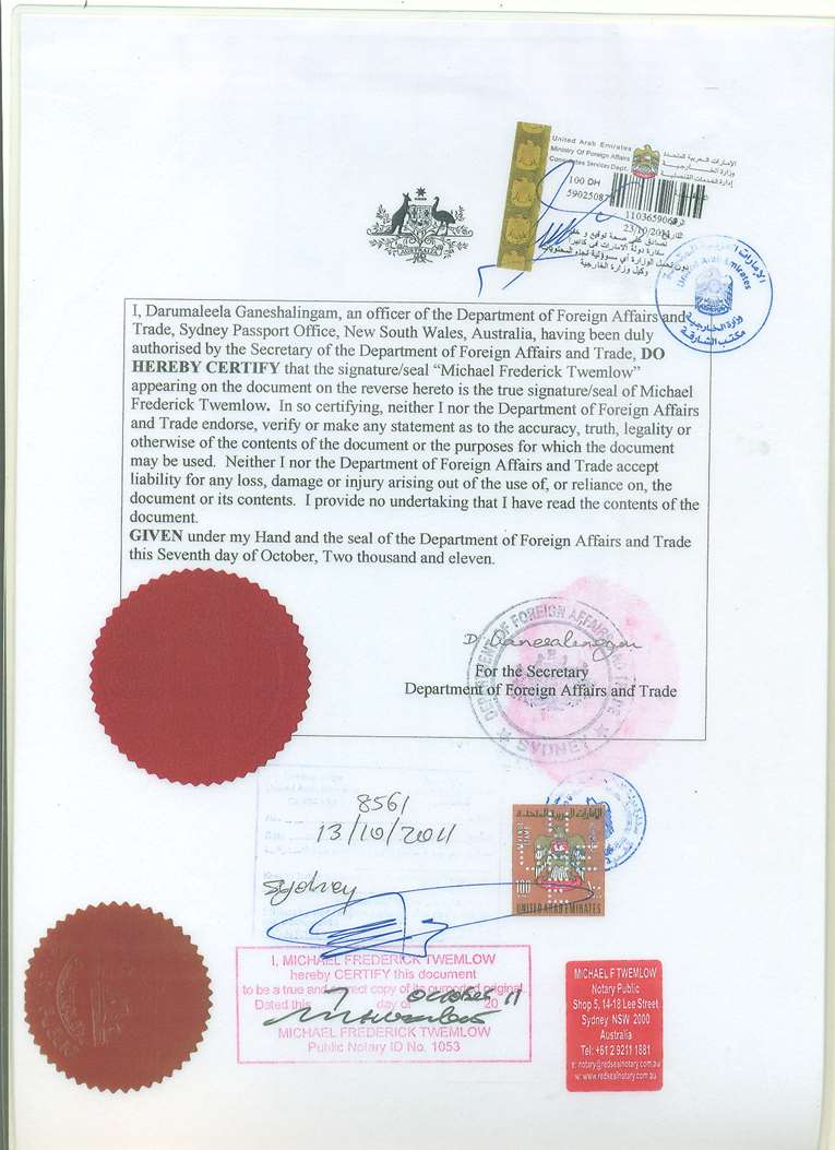 Certificate attestation service attestation from uae australia certificate attesation uk yadclub Image collections